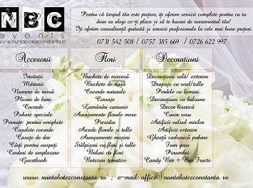 NBC Events Nunta Constanta