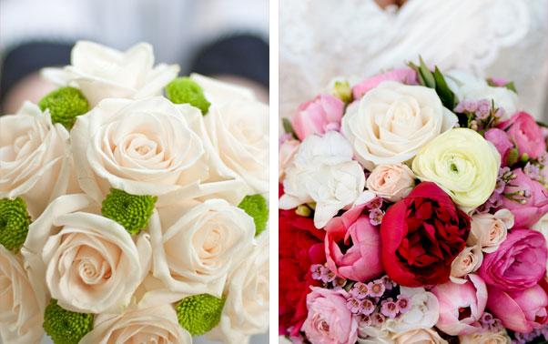 Buchete domnisoara de onoare trandafiri albi